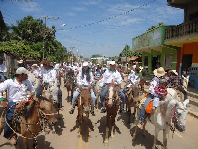 Cavalgada foi um dos pontos da feira em Assis Brasil – Foto: Assessoria