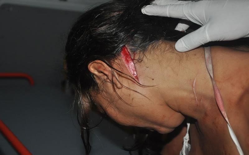 A tentativa de homicídio contra a jovem Cristiane Souza de Oliveira 23 anos,