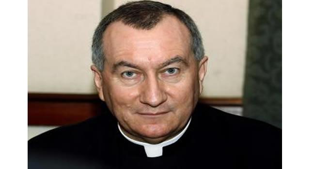 Foto de arquivo de Pietro Parolin, que foi nomeado neste sábado, 31 de agosto de 2013, secretário de Estado do Vaticano pelo papa Francisco. Reuters