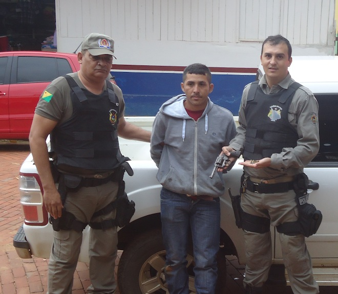 Índio Juraci Alves Jaminawa (31) foi detido por policiais militares de Assis Brasil – Foto: oaltoacre/cedida