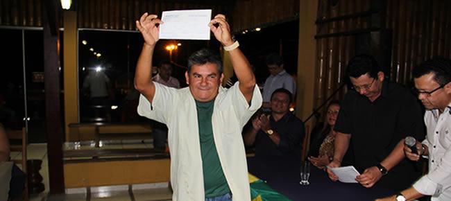 Jornalista Almir Andrade   – Foto: Alemão Monteiro