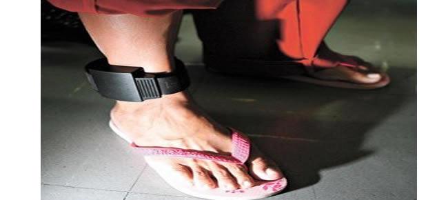 O acusado usava uma tornozeleira eletrônica do sistema prisional de Alagoas (Crédito: arquivo)