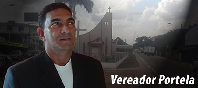 Vereador Portela.
