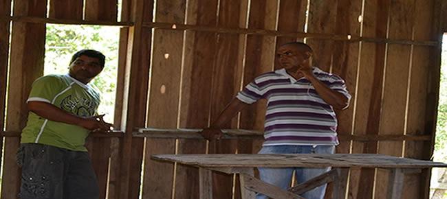 """O objetivo do encontro era discutir junto com a comunidade a abertura de um """"braço"""" de ramal"""