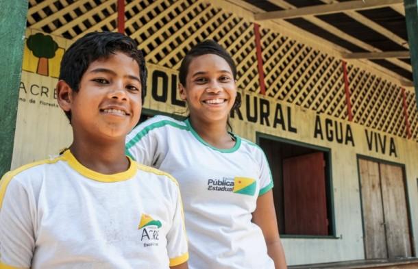 Os três últimos governos investiram na educação e os resultados são vistos através do índice de desenvolvimento humano municipal (Foto: Arison Jardim/Secom)
