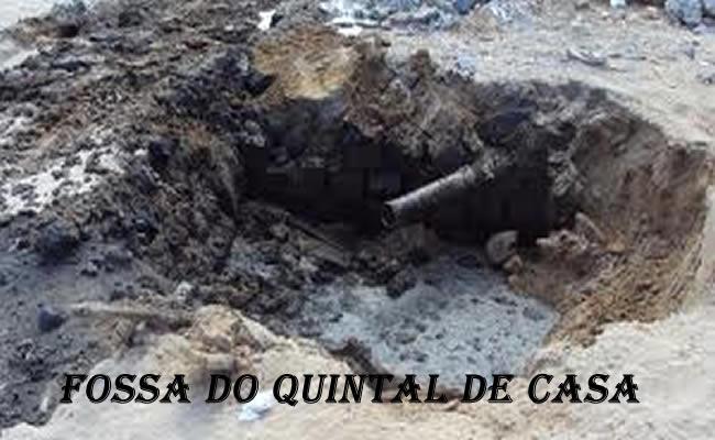 FOSSA DO QUINTAL DE CASA FOTO FACEBOOC