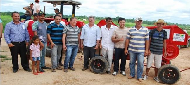 Associação de Produtores Rurais do Projeto de Assentamento Antonio de Holanda, localizada no Ramal Aldo Aires (Foto: Assessoria Seaprof)