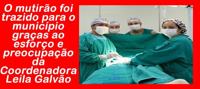 Preocupação da Coordenadora Leila Galvão
