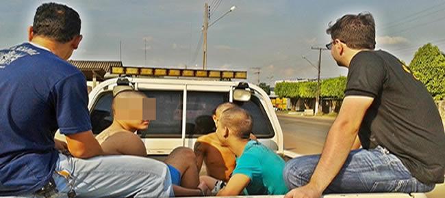 Os adolescentes foram localizados em uma residência no Polo agroflorestal Elias Moreira Foto: ACPURUS