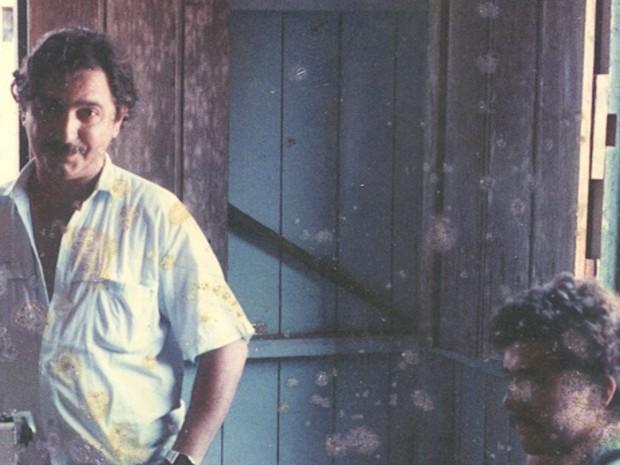 Chico Mendes na casa da família em Xapuri (AC) (Foto: (Arquivo de família)