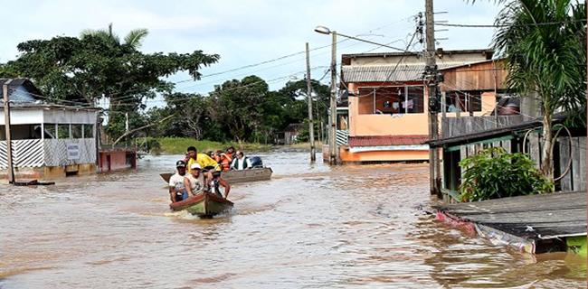 a Concessionária pede que os moradores que tiverem suas residências atingidas pelas águas entrem em contato imediato com a Empresa