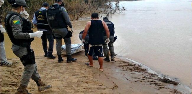 Corpo de homem foi encontrado nesta segunda no bairro Aeroporto Velho