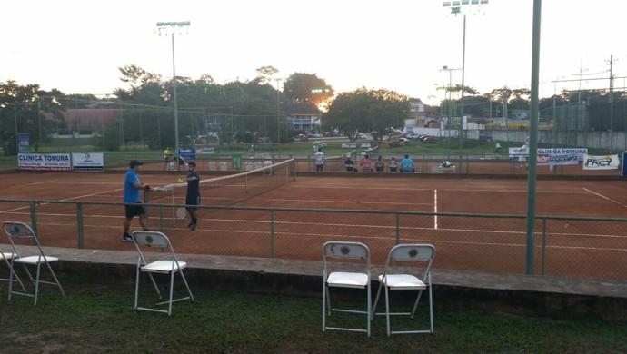 Jogos são disputados nas quadras da AABB-AC (Foto: Divulgação/Fact)