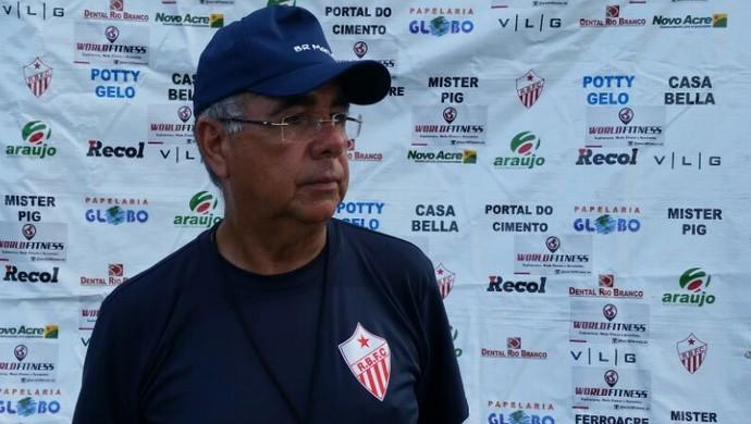 Illimani Suares, presidente do Rio Branco, falou sobre o caso nesta quarta (Foto: Duaine Rodrigues)
